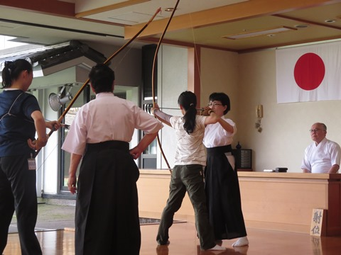 弓道教室の写真