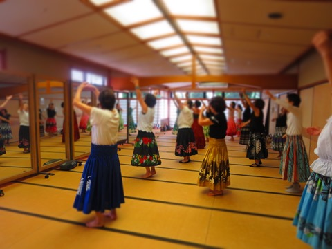 フラダンス教室の写真