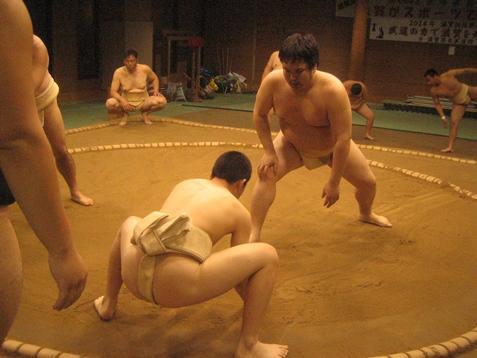 相撲教室の写真