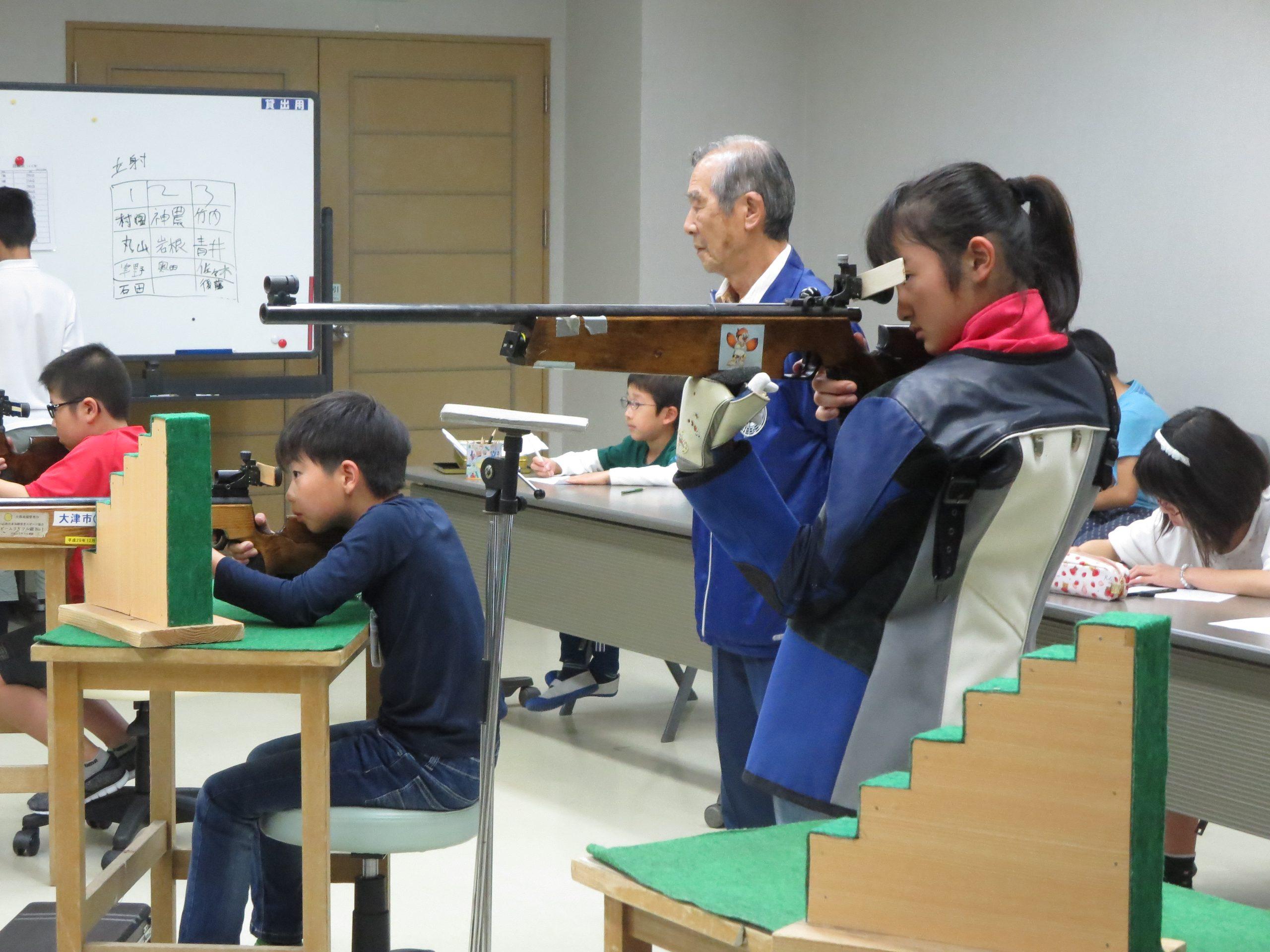 第1回ビームライフル射撃記録会開催しました(12/2)