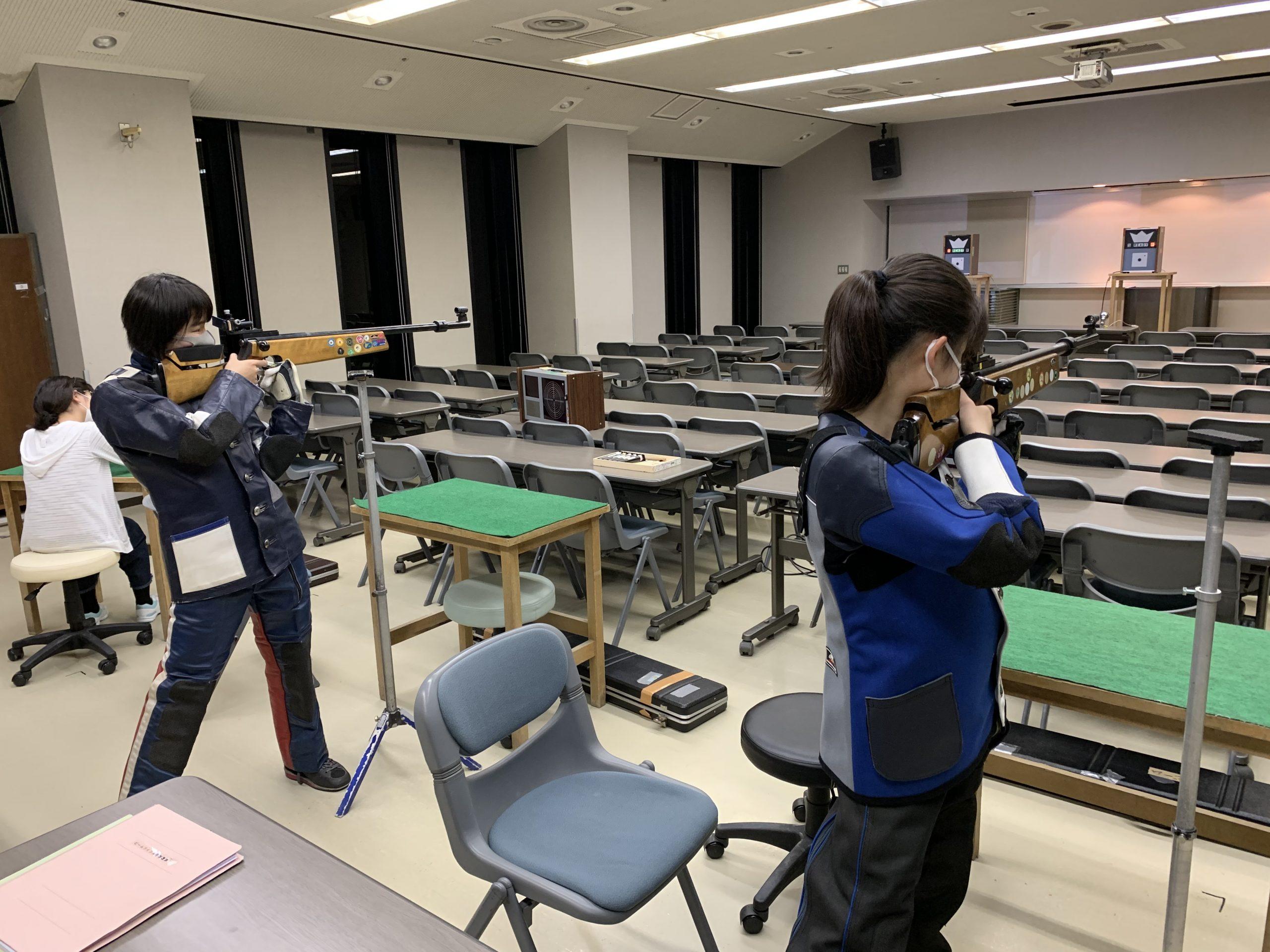 ビームライフル射撃教室前期記録会の結果です!