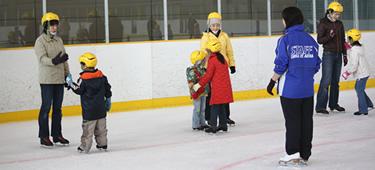 親子スケート教室