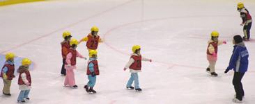 幼児スケート教室