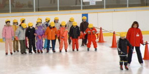 スケート団体指導