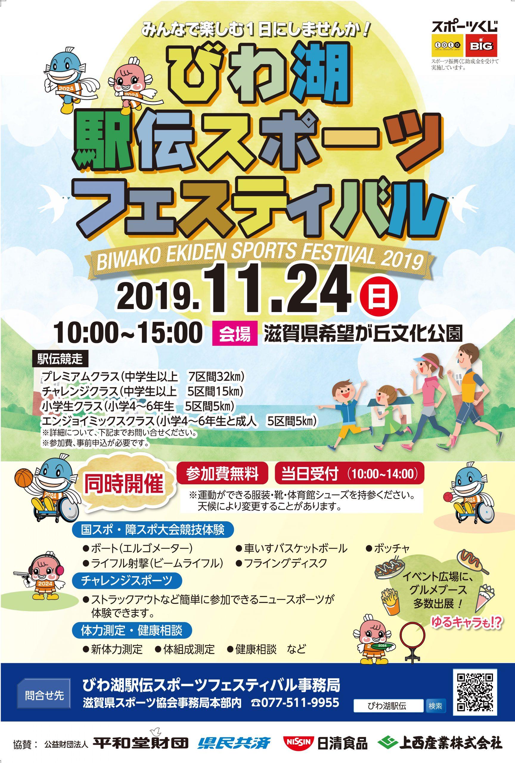 びわ湖駅伝スポーツフェスティバル2019大会結果