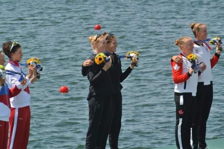 NZボートチーム金メダル獲得!