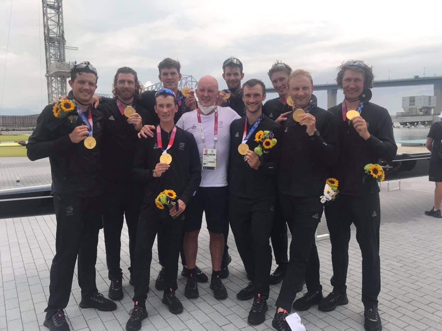 NZボートチーム メダルラッシュ!