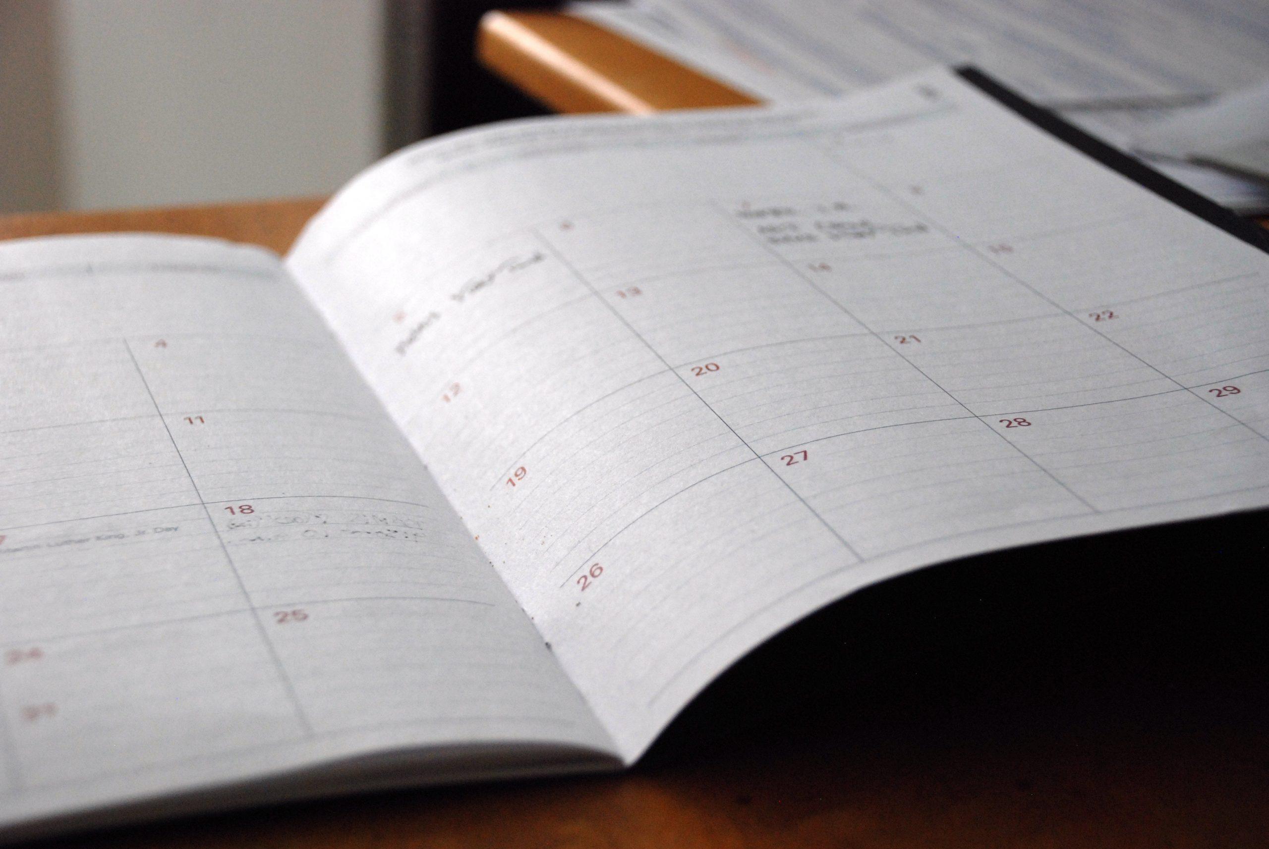 2019年度 イベントカレンダー